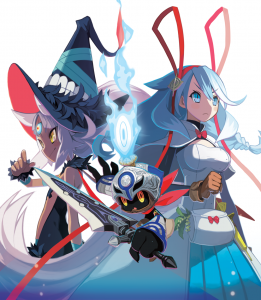 The Witch and the Hundred Knight 2 Key Art