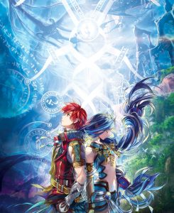 Ys VIII Lacrimosa of Dana Key Art