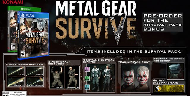 Metal Gear Survive Cheats