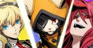 BlazBlue Cross Tag Battle Aegis Carmine Jubei Banner