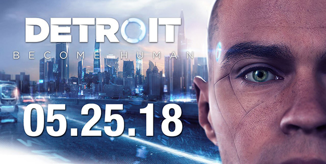 Detroit Become Human Release Date Banner