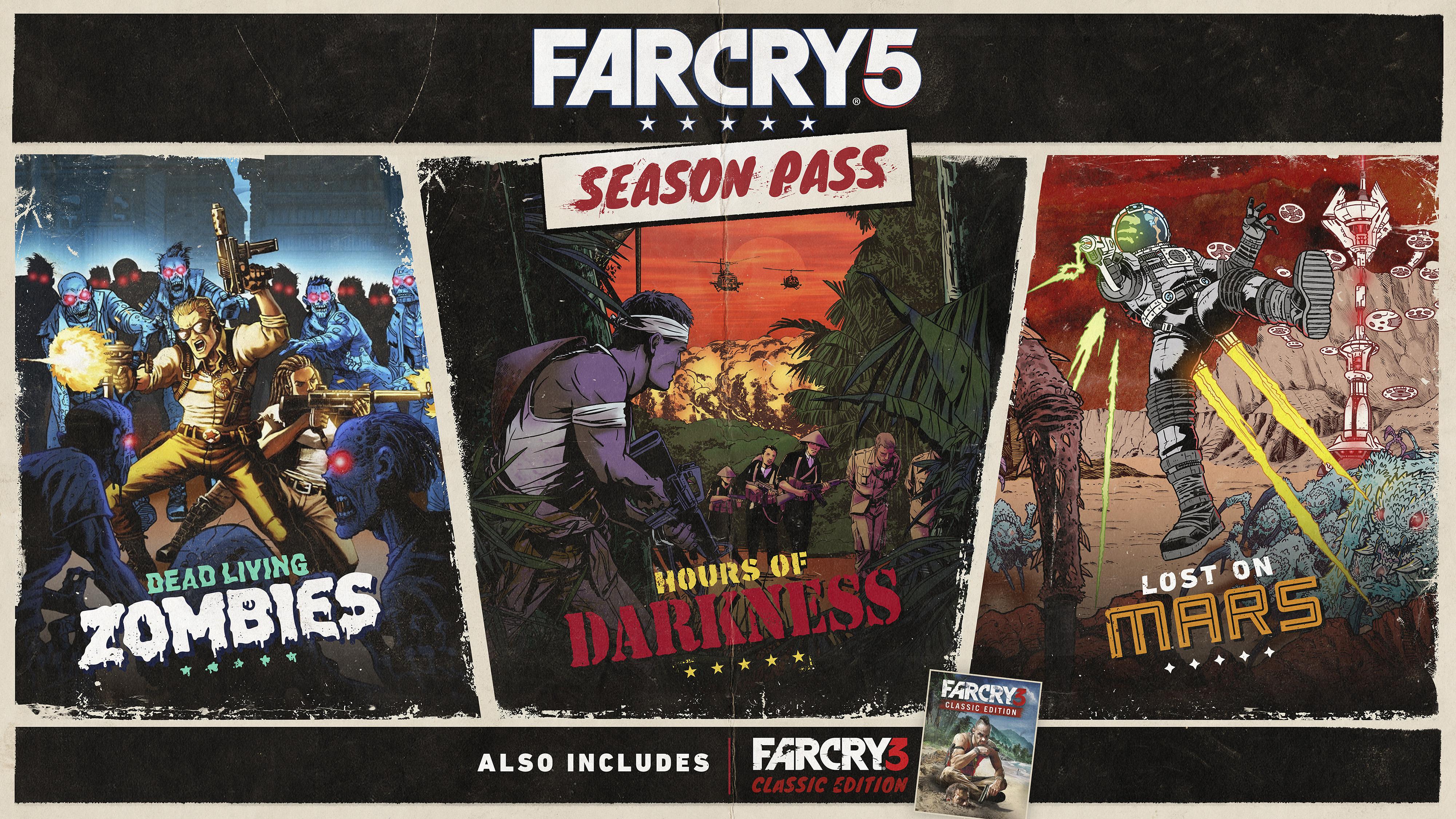 Far Cry 5 Season Pass Key Art