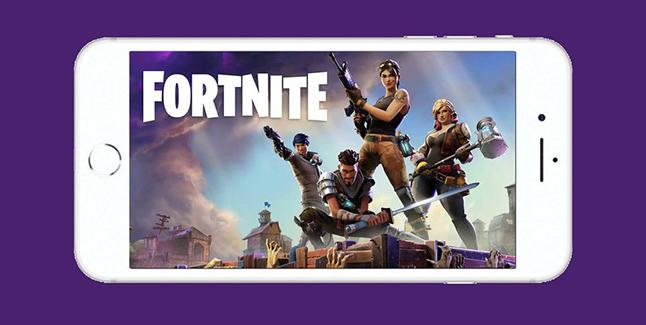 Fortnite Battle Royale Mobile Banner