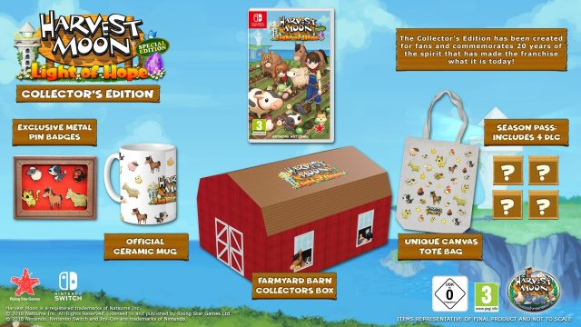 Harvest Moon Light of Hope Special Edition EU Colelctor's Edition