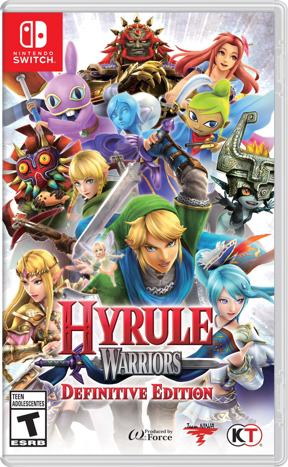 Hyrule Warriors Definitive Edition Boxart