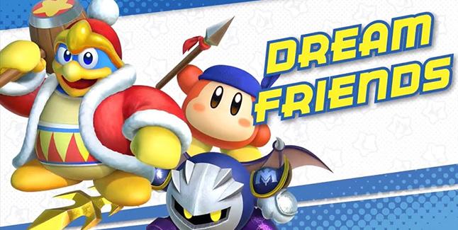 Kirby Star Allies Dream Friends Banner