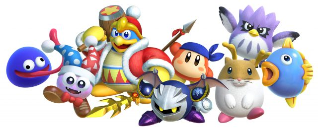 Kirby Star Allies Dream Friends Render
