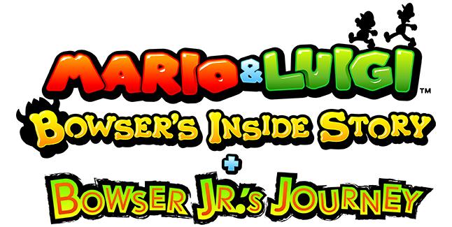 Mario & Luigi Bowser's Inside Story + Bowser Jr.'s Journey Logo