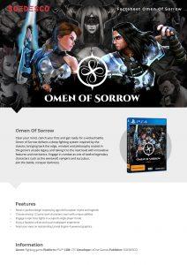 Omen of Sorrow Fact Sheet