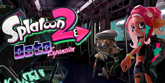 Splatoon 2 Octo Expansion Banner
