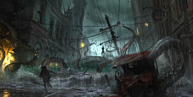 The Sinking City Banner