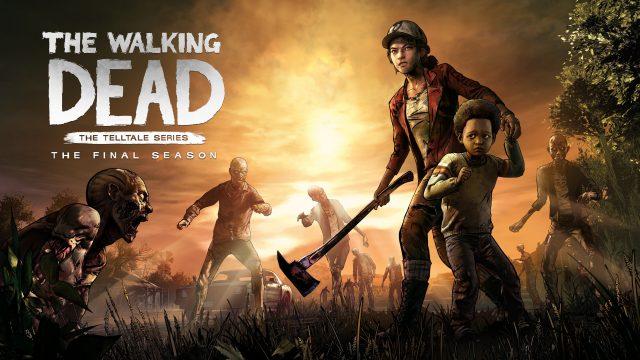 The Walking Dead The Final Season Key Art