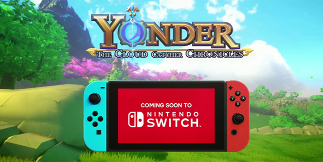 Yonder The Cloud Catcher Chronicles Switch Banner