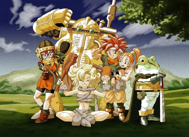 Chrono Trigger Akira Toriyama Art