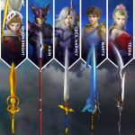 Dissidia Final Fantasy NT Weapons Pack 1