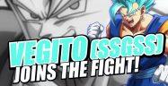 Dragon Ball FighterZ Blue Vegito Banner