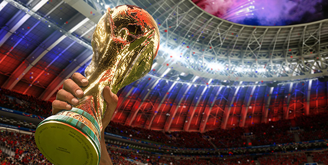 FIFA 18 World Cup 2018 Banner