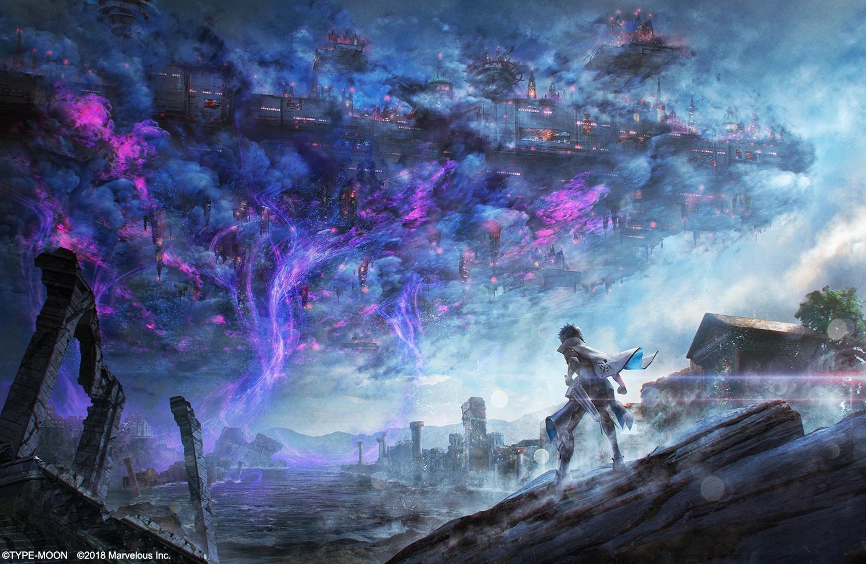 Fate Extella Link Key Visual