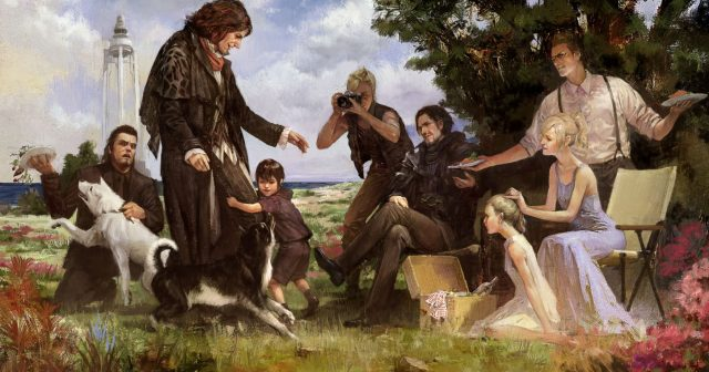 Final Fantasy XV alternate ending concept art