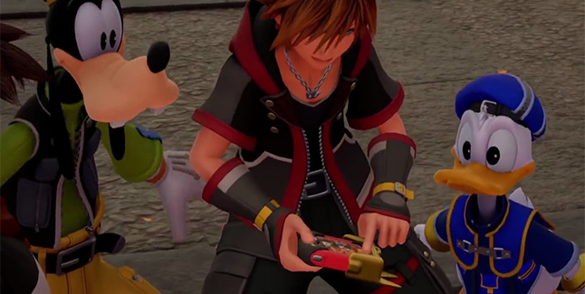 Kingdom Hearts III Mini-Games Banner