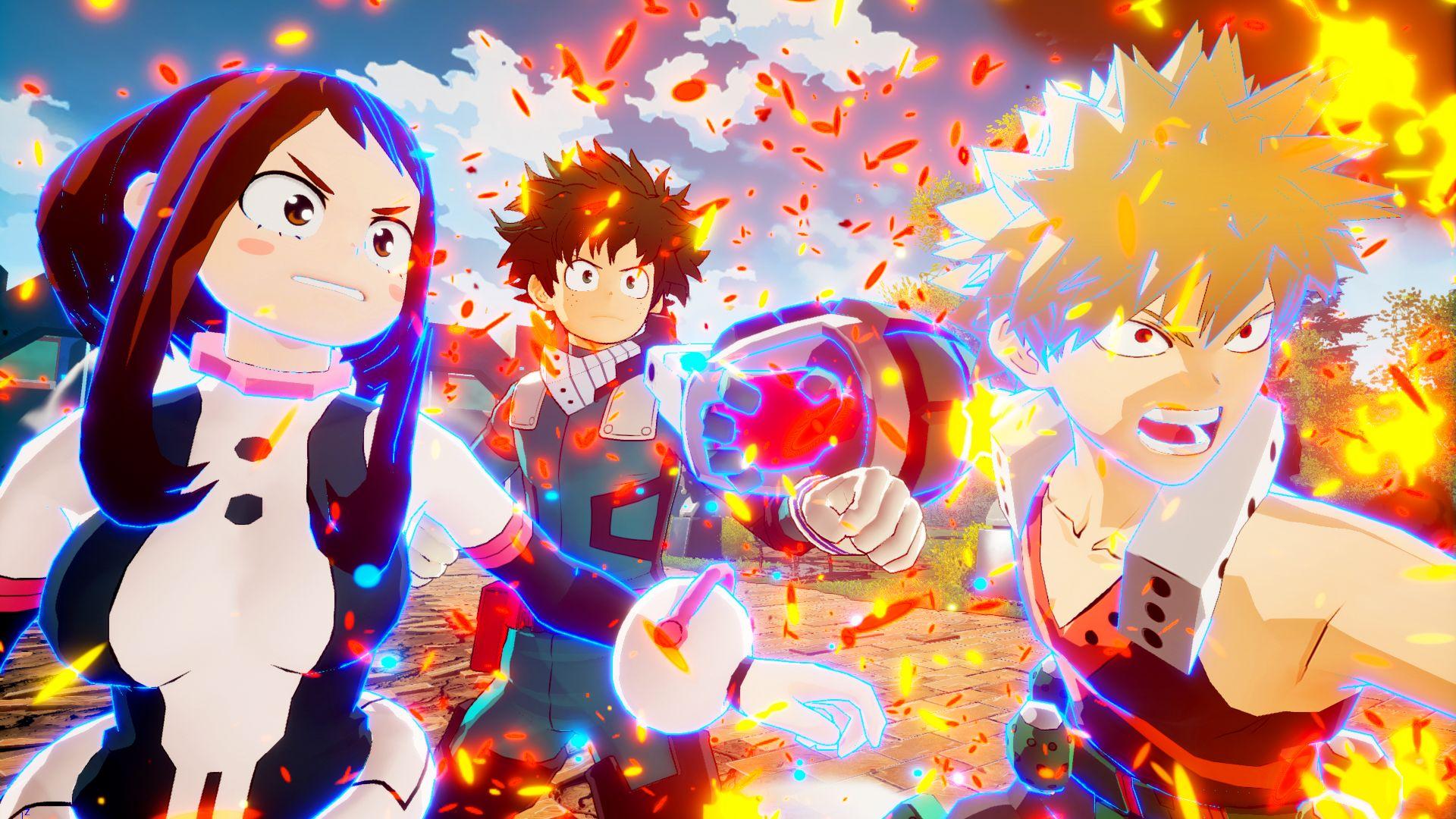 My Hero Ones Justice Screen 13