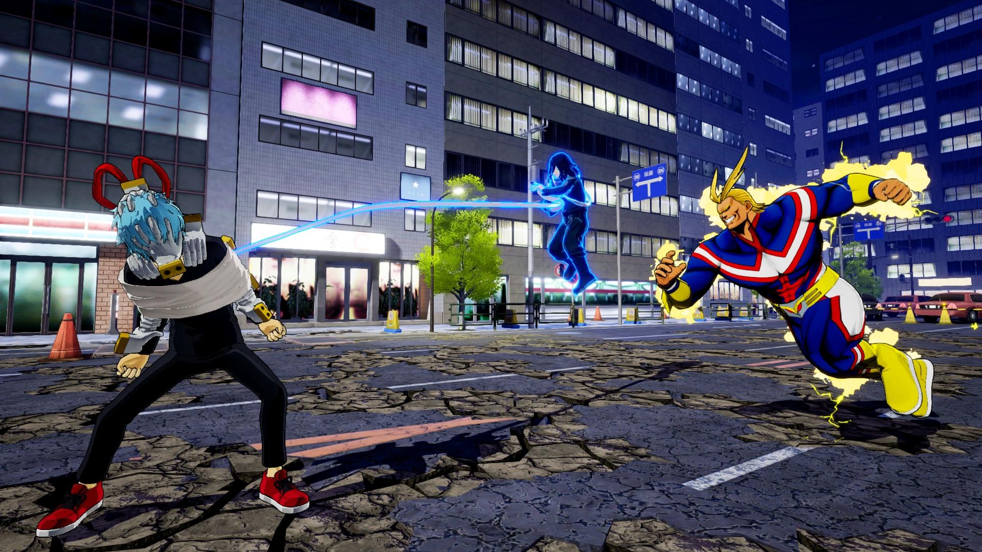 My Hero Ones Justice Screen 2