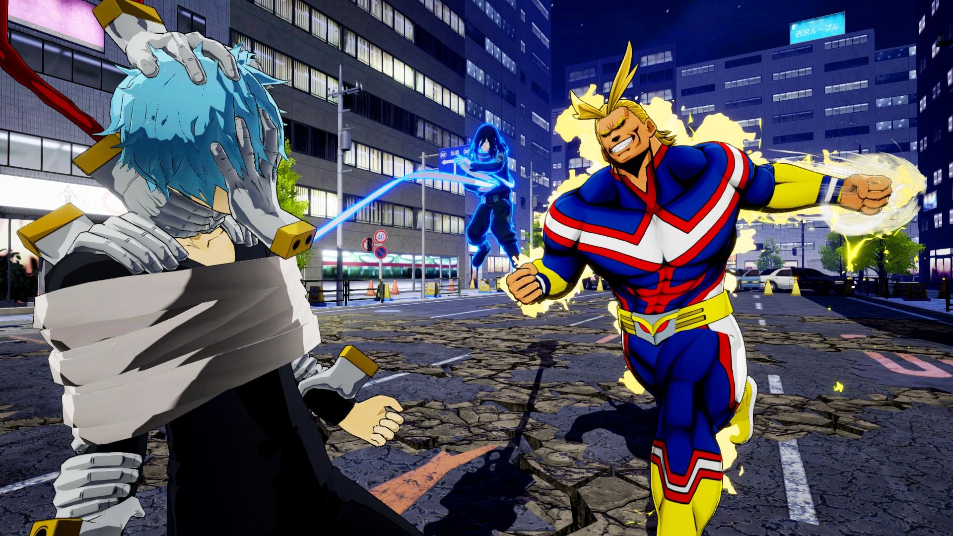 My Hero Ones Justice Screen 3