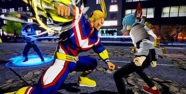 My Hero Ones Justice Screen 4