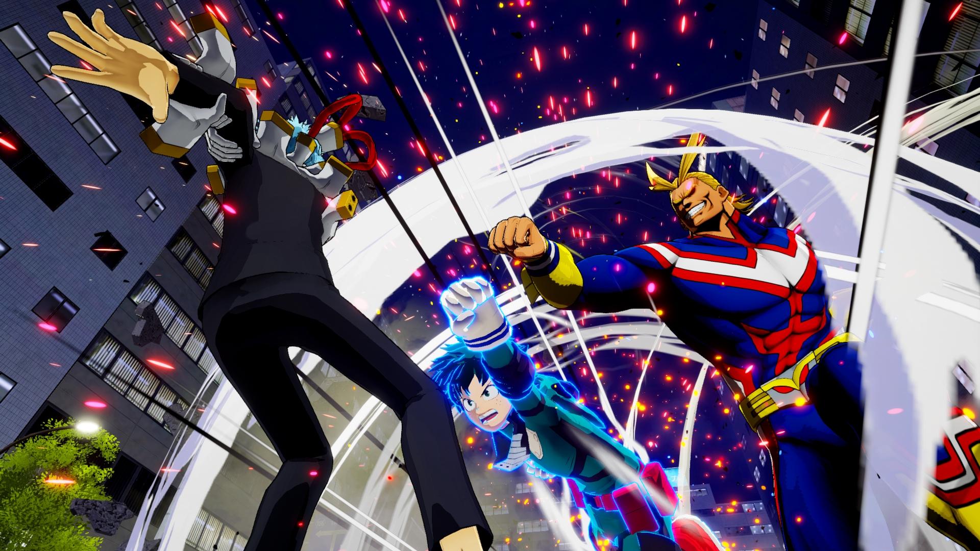 My Hero Ones Justice Screen 6