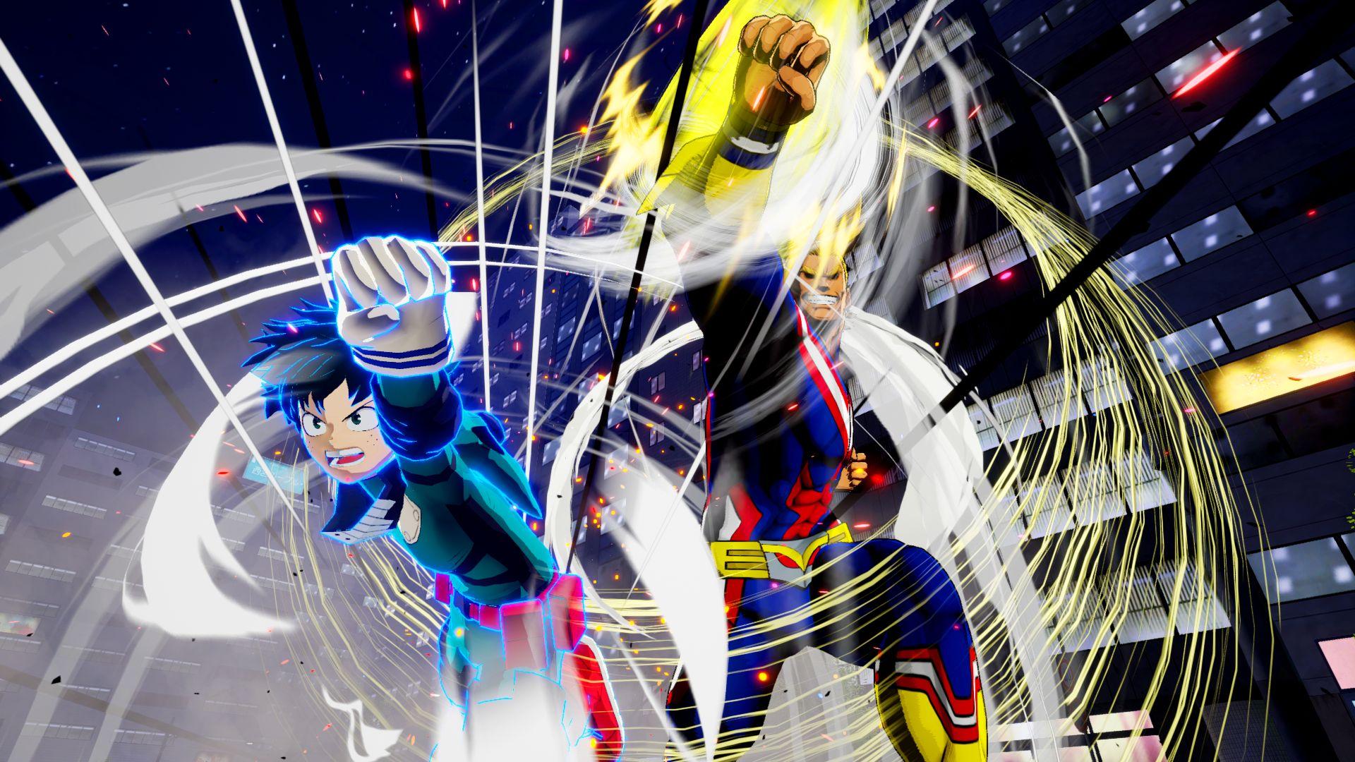 My Hero Ones Justice Screen 8