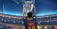 PES 2018 Messi Champions League Banner