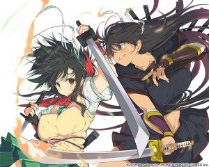 Senran Kagura Burst Re Newal Key Visual