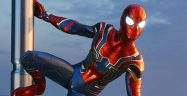 Spider-Man PS4 Iron Suit Banner
