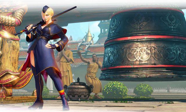 Street Fighter V Arcade Edition Falke Key Art