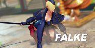 Street Fighter V Falke Banner