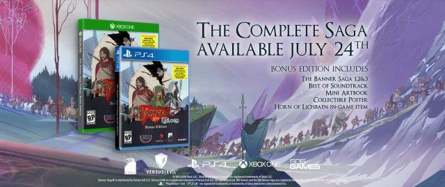 The Banner Saga Trilogy Bonus Edition Banner