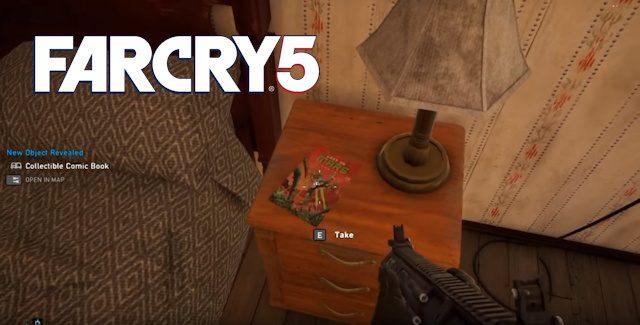 Far Cry 5 Comic Books Locations Guide