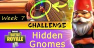 Fortnite Battle Royale Week 7 Challenges: Hidden Gnomes Named Locations Guide