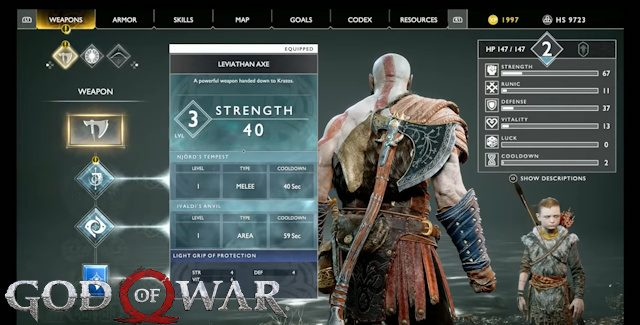 God of War 2018 Cheats