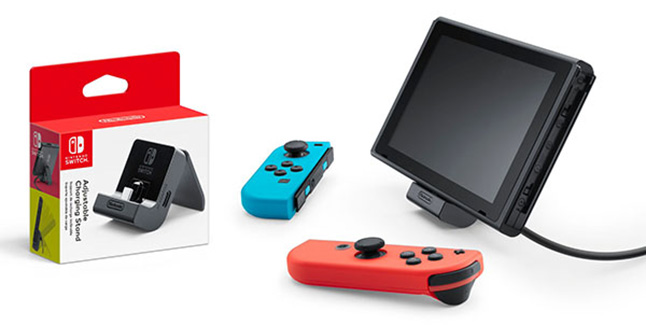 Adjustable Charging Stand for Nintendo Switch Banner