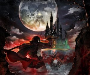 Bloodstained Curse of the Moon Key Art