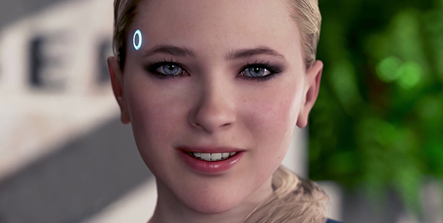 Detroit Become Human Chloe Banner