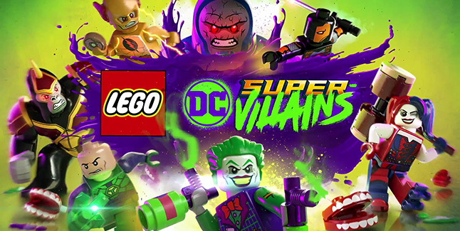 LEGO DC Super-Villains Banner