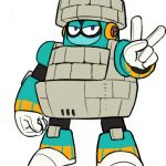 Mega Man 11 Character Art 3