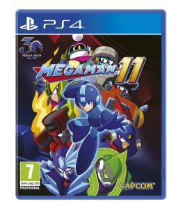 Mega Man 11 PS4 Boxart