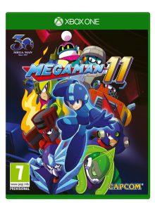 Mega Man 11 Xbox One Boxart