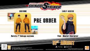 Naruto to Boruto Shinobi Striker Pre-order Bonus