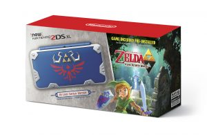 New 2DS XL Hylian Shield Edition Image 1