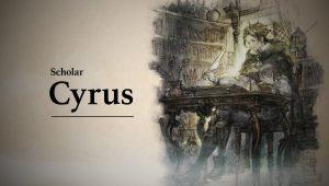 Octopath Traveler Cyrus