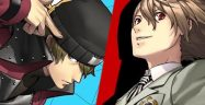 Persona 3 and 5 Dancing Shinjiro Aragaki and Goro Akechi anner
